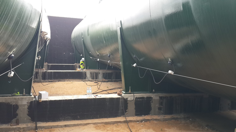 acoustic emission inspection of gas pressure vessels